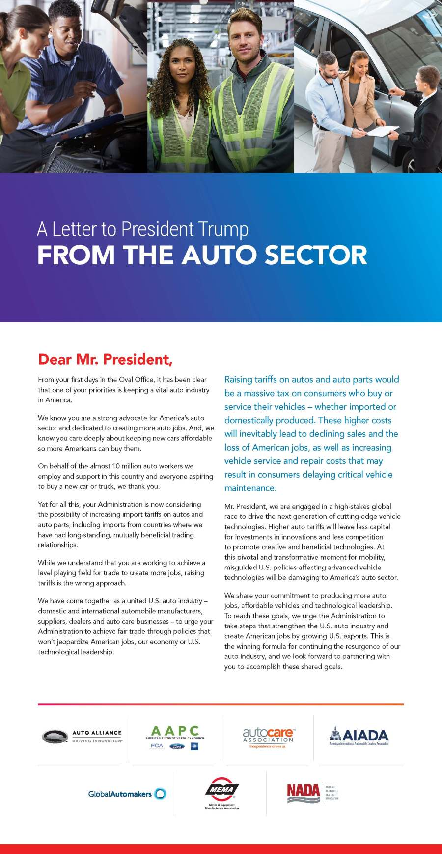 AA_3758 Auto Alliance WSJ Trade Ad One FULL PAGE V 7